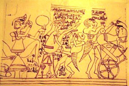Cenas eróticas presentes no Papiro de Turim