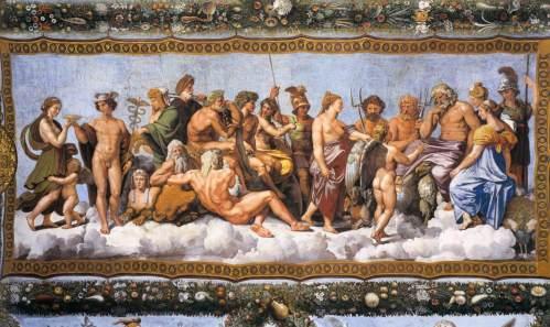 Aparentemente, os veneradores de todos esses deuses não eram religiosos, já que não havia nada escrito a respeito...