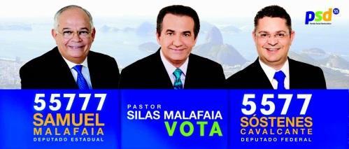 Malafaia apoiando seus candidatos, sem nenhum interesse pessoal, obviamente.